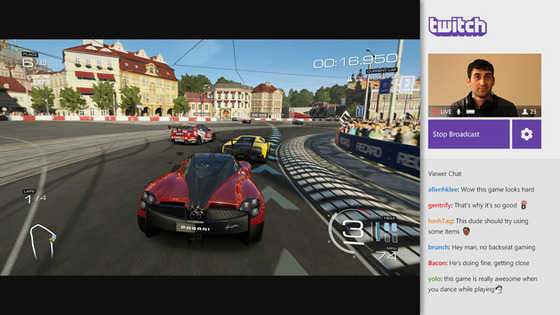 Microsoft Announces Twitch Live Broadcasting For Xbox One