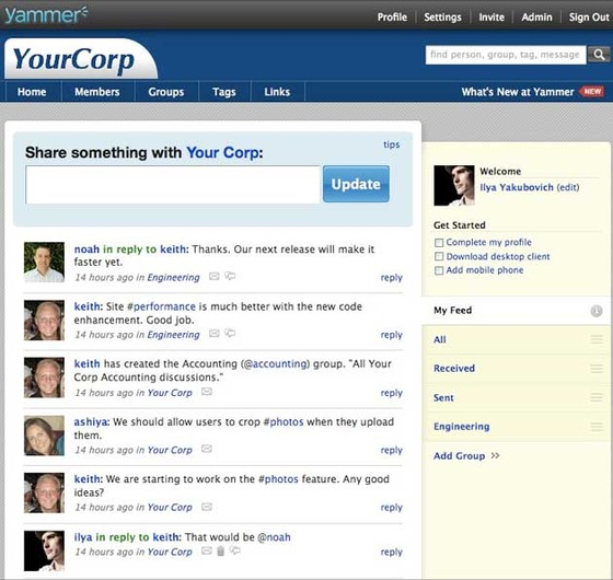 Yammer Gets More Enterprise Integrations With Update