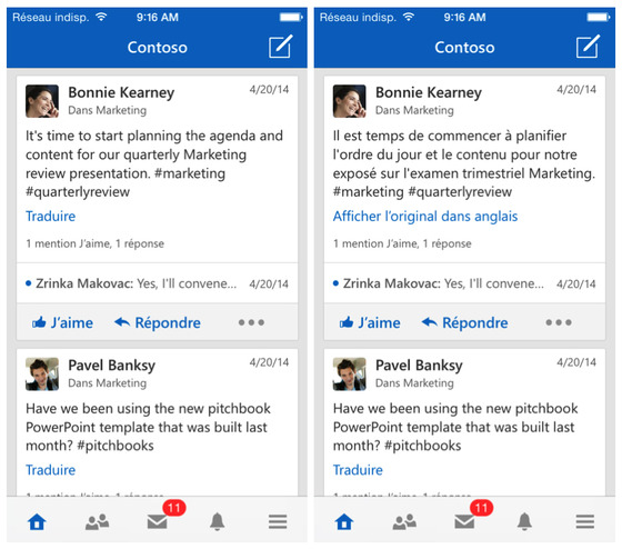 Yammer From Microsoft Updates Mobile Clients To Support A Number Of New Languages
