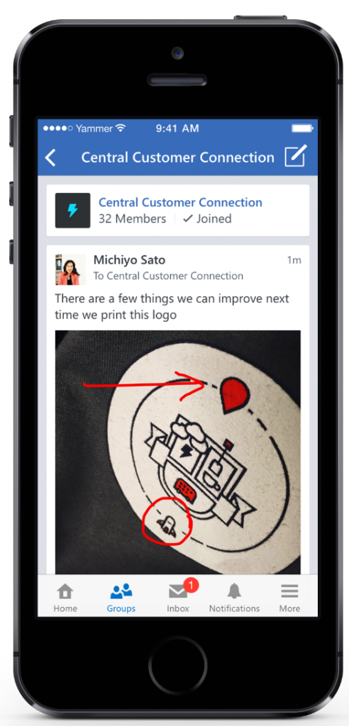 Microsoft Gives Mobile Users Better Yammer Tools To Utilize
