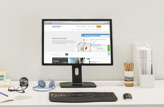 Microsoft Launches Yammer Resource Center