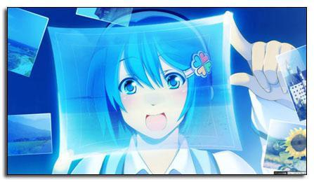 Cute Windows 7 Tan Nanami Madobe Theme