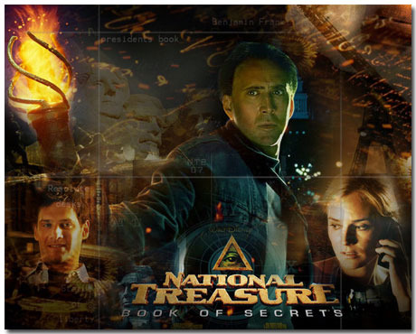 National Treasure Theme With 10 Backgrounds