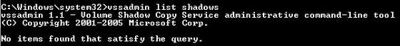 Delete shadow copies in Windows 7/8 to free up disk space!