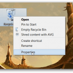 open recycle bin properties png