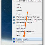 Extending Screen Over 2 or 3 Monitors Using AMD's Vision Engine Control Center (Multi-Monitor)