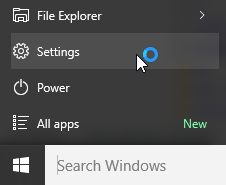 Open Windows 10 Settings 100x100 Png