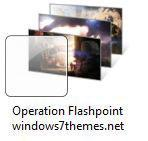 Operation Flashpoint: Red River Windows 7 Gaming Theme
