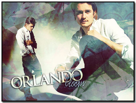 Orlando Bloom Wallpaper Theme With 10 Backgrounds