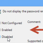 Unhide passwords: Enable or disable the Password reveal button in Windows 8 via Policy Editor