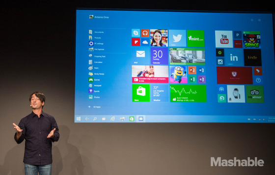Microsoft Gets Public Unveiling Of Updates For Windows 10