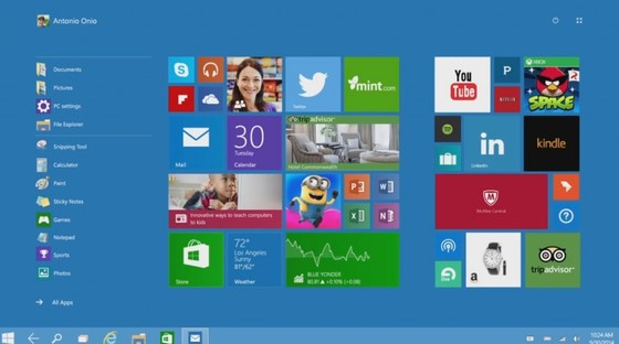Microsoft Shows Enterprise Customers Tiled Start Menu Is Back