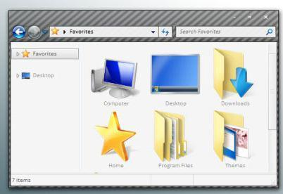 10 Best Plain Windows Themes for XP and Win7 + Aero.msstyles compatible PNGs