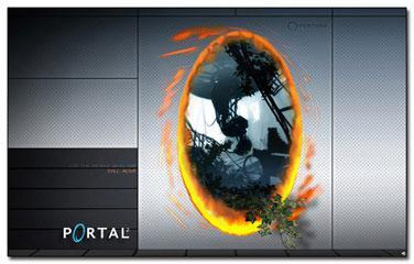 Nice Portal 2 Windows 7 Theme