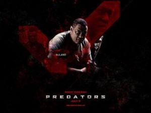 Predators Dark-Red Desktop Design