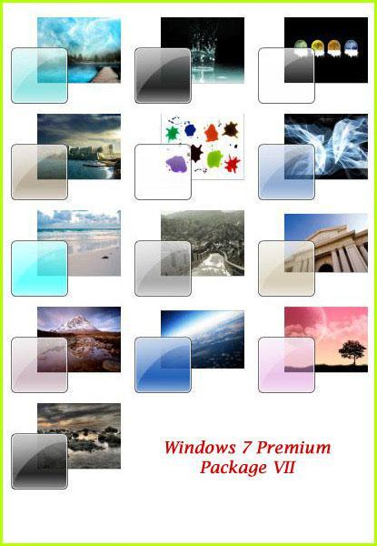Big Windows 7 Theme Package #7
