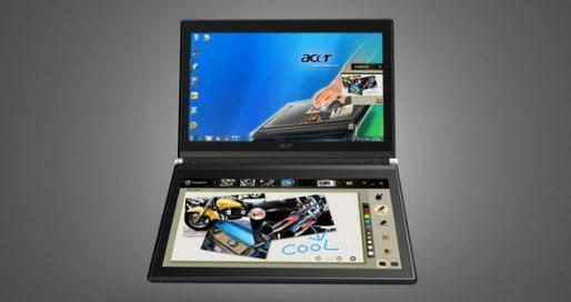 Acer's Laptop-Like Dual-Screen Tablet PC Now Up For Pre-Order