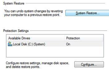 How long does it take to do a system restore in Windows 7