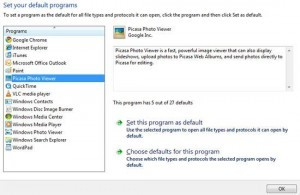 How To Change Default Programs in Windows 7