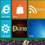 Change numer of user tile rows on Windows 8 metro desktop