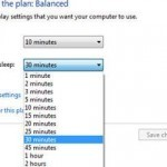 preview how to change sleep time in Windows 7 jpg