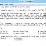preview how to edit hosts file in Windows 8 jpg