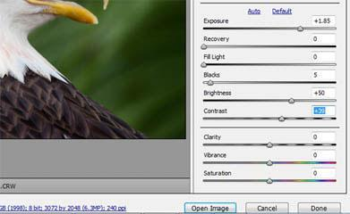How to open RAW files in Photoshop