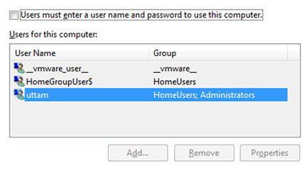 How to remove welcome screen in Windows 7