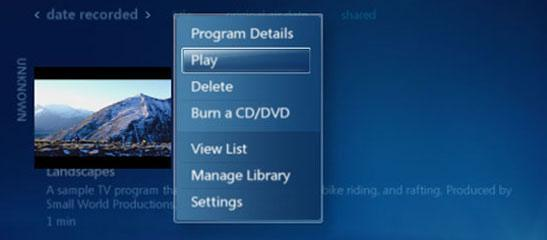 How to watch recorded tv on Windows 7