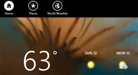The Windows 8 Weather App Tutorial: Changing Your Weather Location