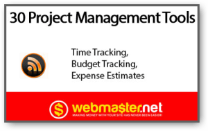 Cross-Promotion: Webmaster.Net Features Top 30 Project Management Software