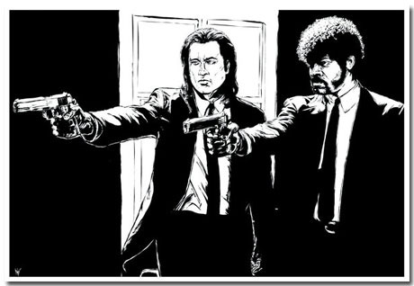Pulp Fiction Theme With 10 Best Fan-Art Backgrounds For Your Desktop