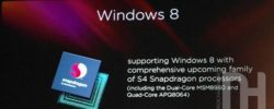 Windows 8 Prototype PCs Powered By Qualcomm's Snapdragon