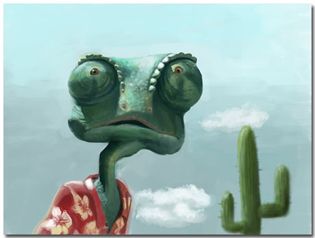 Rango Theme With 10 Backgrounds