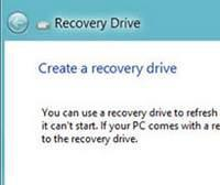 Prepare for emergencies: Create a recovery USB drive in Windows 8 to recover your OS