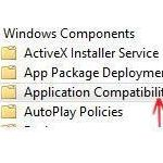 remove application compatibility tab jpg