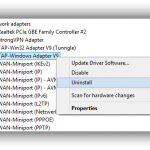 remove tap windows adapter v9 png