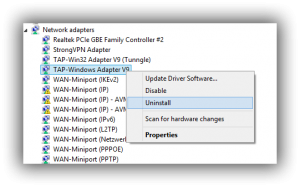Remove Tap Windows Adapter V9 100x100 Png