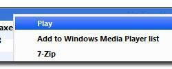 How to remove Windows Media Player from context menu?