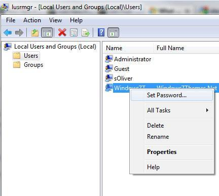 Guide: Reset The Admin Password in Windows 7