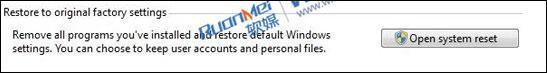 """Windows 8 Could Get """"Reset To Factory Default"""" Feature"""