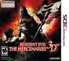 Resident Evil The Mercenaries 3D Confirmed Characters