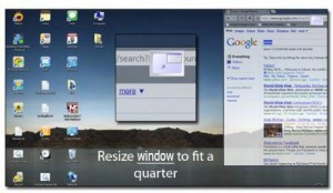 How to snap Windows together or to specific size in Windows 7