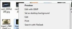 How to quickly resize (multiple) images in Windows 7