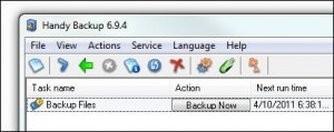 Scheduling A Backup in Windows 7 in 8 Steps