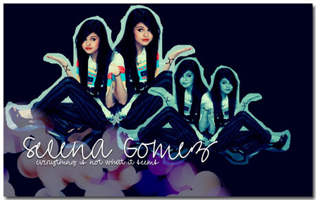 Selena Gomez Wallpaper Theme With 10 Backgrounds