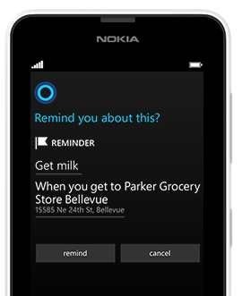 Microsoft Shows Off Cortana Features In Latest Commercial