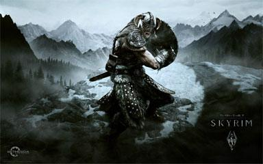 E3 2011 Skyrim Gameplay Video On XBOX 360