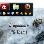 Skyrim Windows 7 Theme With Sounds And Orb