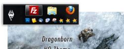 Skyrim Windows 7 Theme With Elder Scrolls Sound Theme And Start Button (2014 Update)